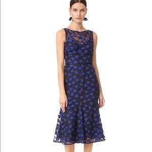 Lela Rose Black Lapis Dress Size 4